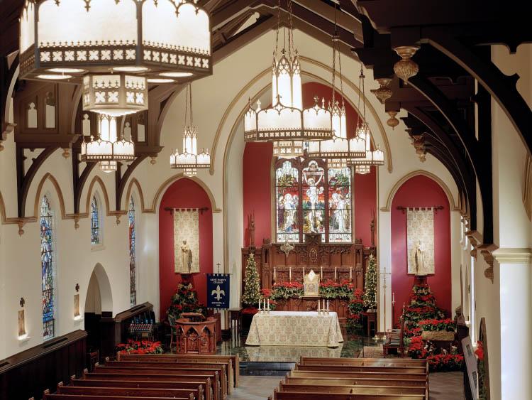 St Mary S Catholic Church Gallery Manning Lighting