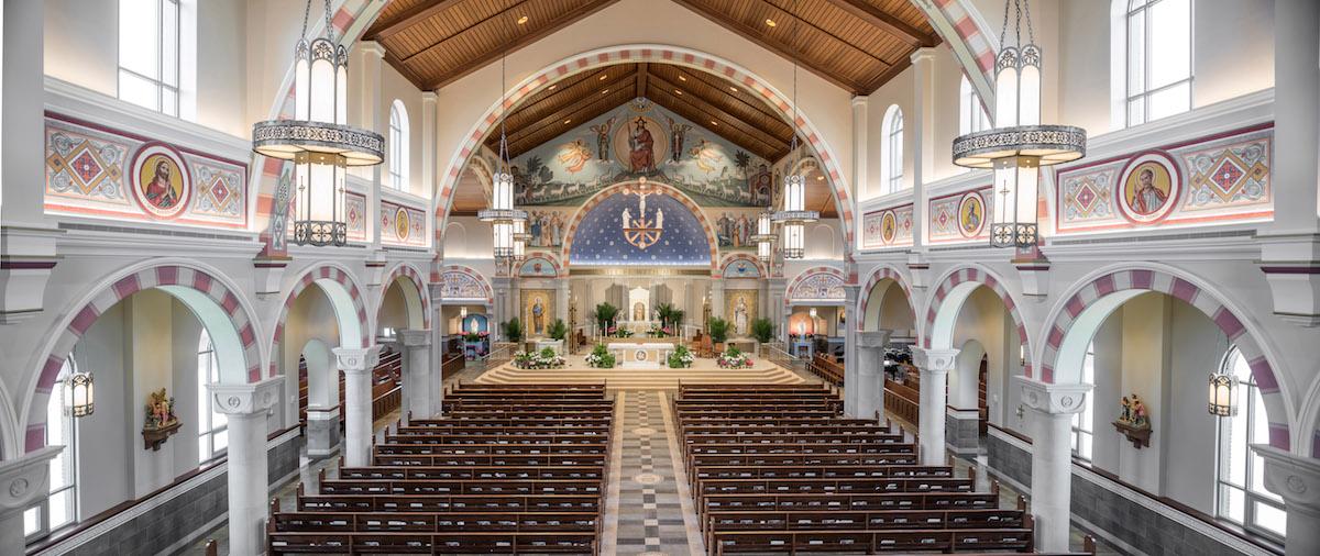 Saint Pius X Catholic Church Manning Lighting